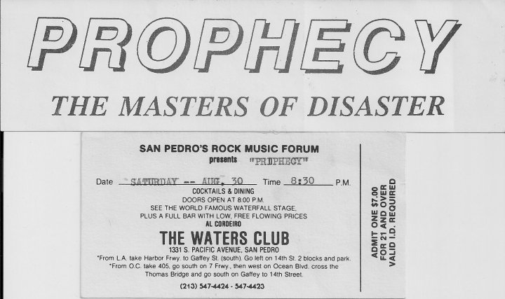 San Pedro's Rock Music Forum – Cirith Ungol Online