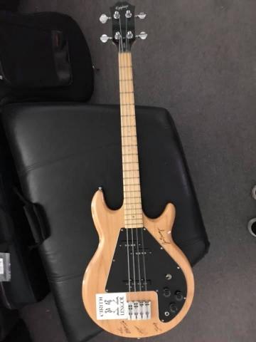 Calvin Meuser Bass - Ephiphone Ripper